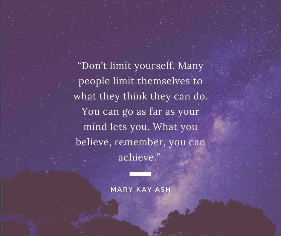 Mary Kay Ash network marketing quote