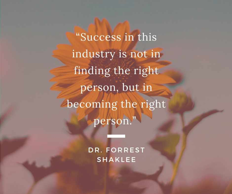 Dr. Forrest Shaklee quote