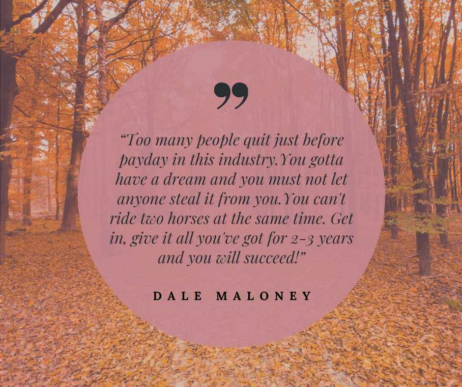 Dale Maloney quote