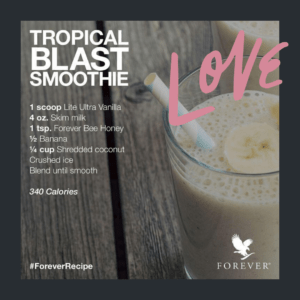 Tropical Blast Smoothie