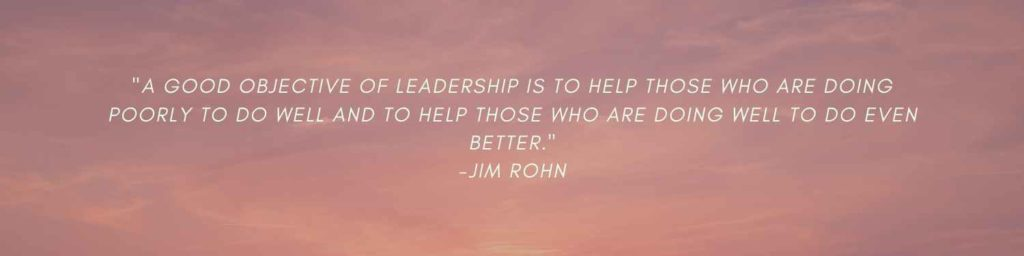 How to improve leadership skills quote