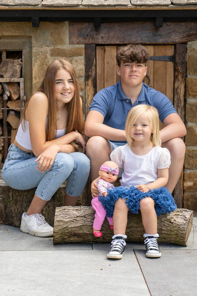 Natalie Heeley's kids