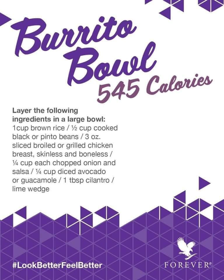 burrito bowl C9 cleanse recipe