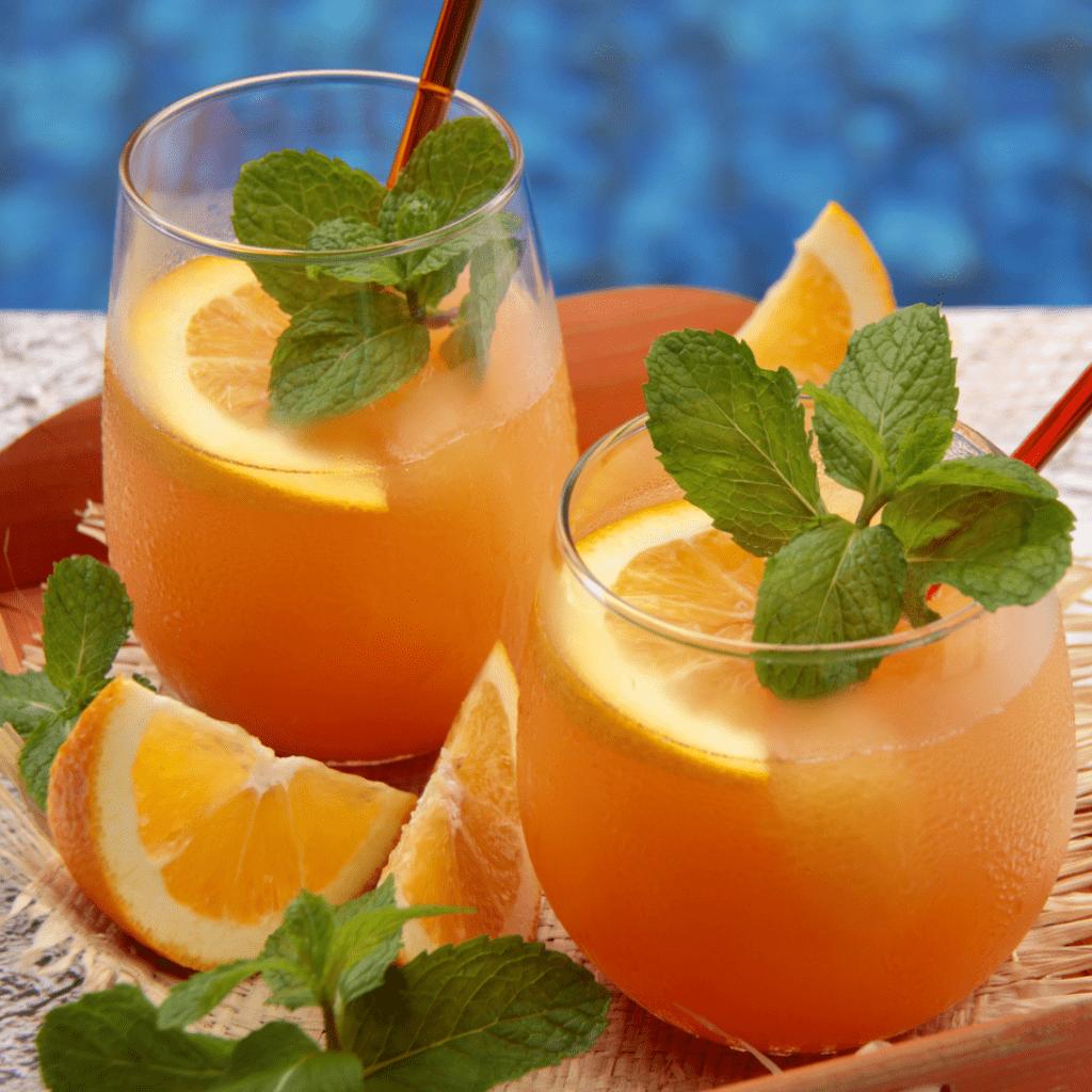 Orange Juice Mocktail by The Worktop