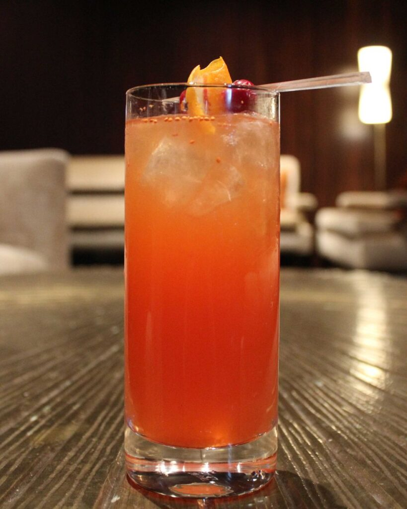Cranberry Spice From the Waldorf Astoria Chicago