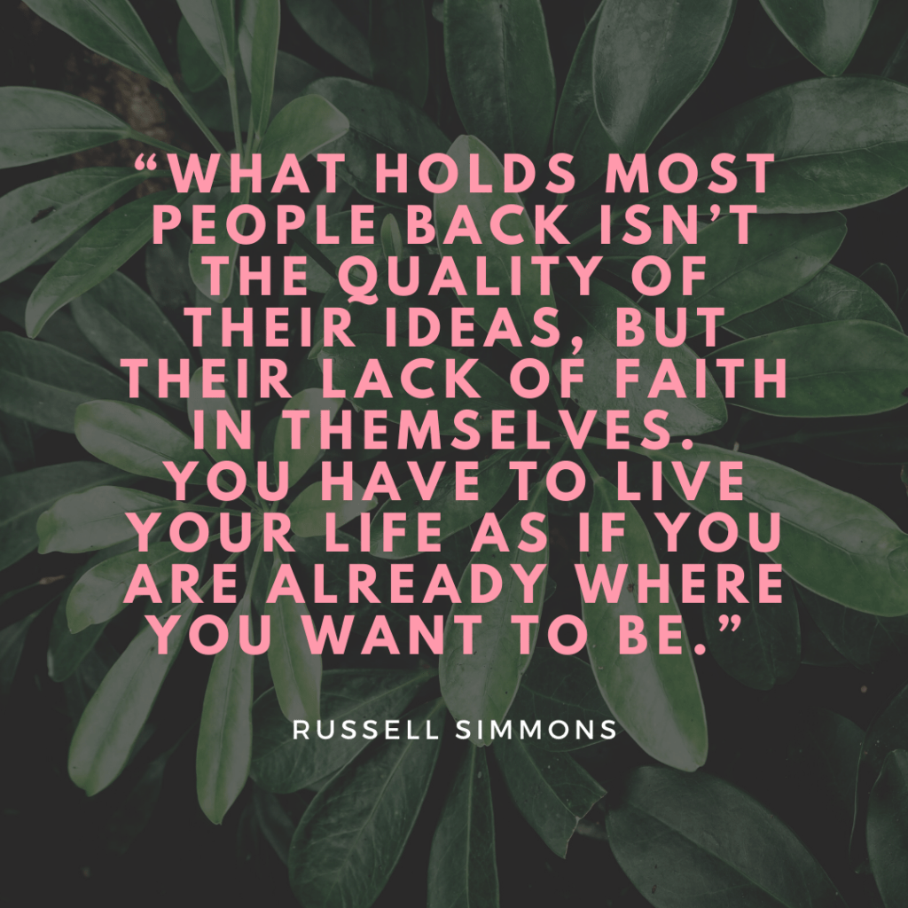 Russell Simmons self development quotes
