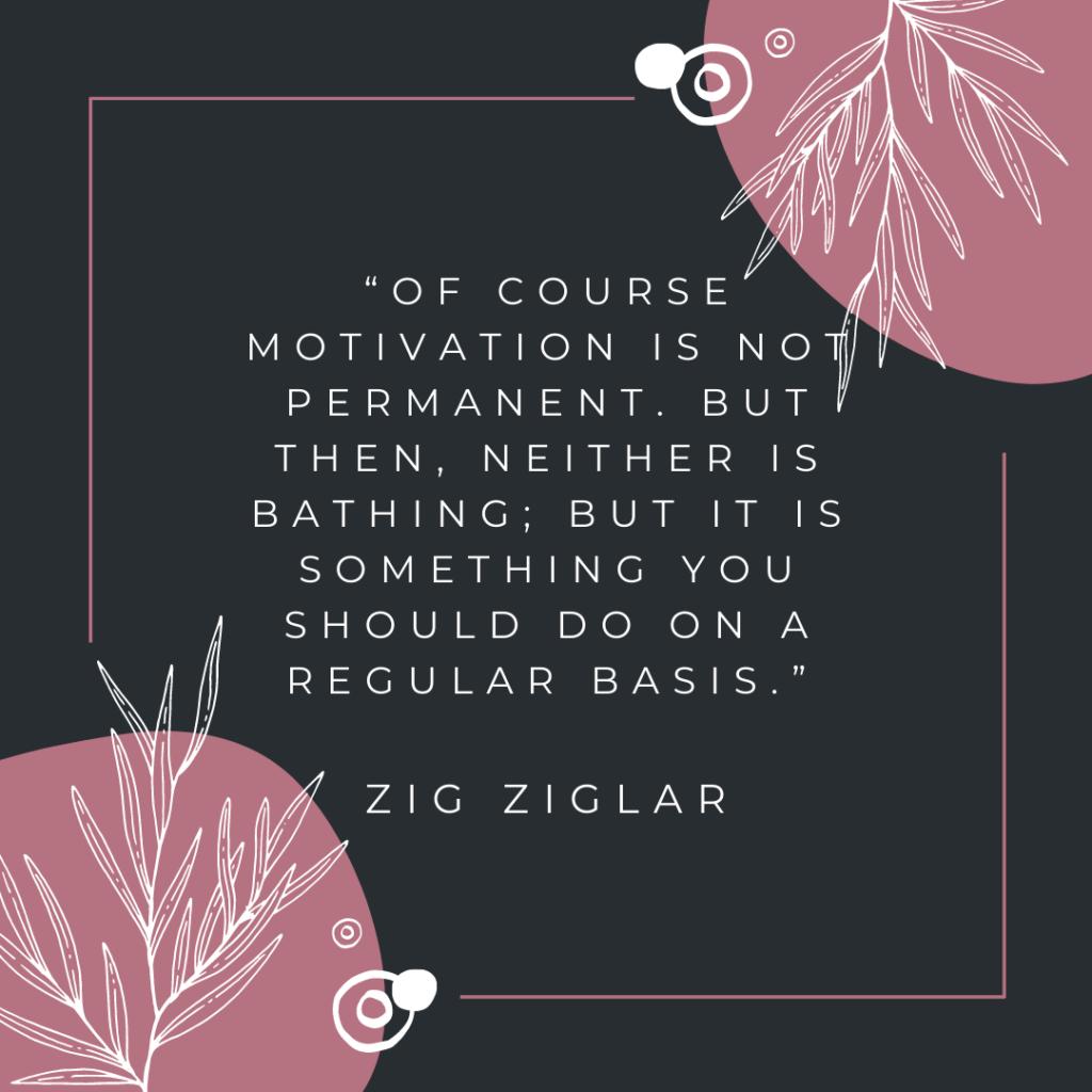 Zig Ziglar self development quotes