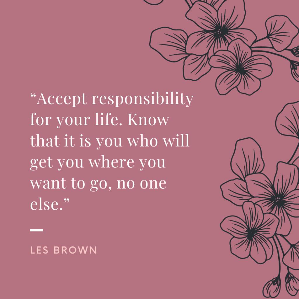 Les Brown self development quotes