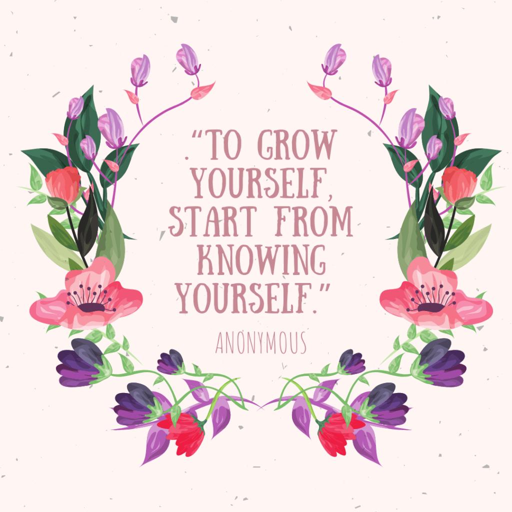 Anonymous self development quotes