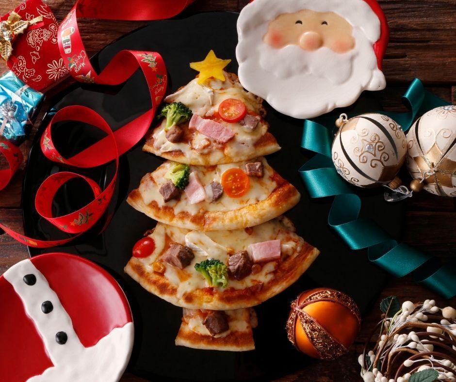 Festive Homemade Pizzas