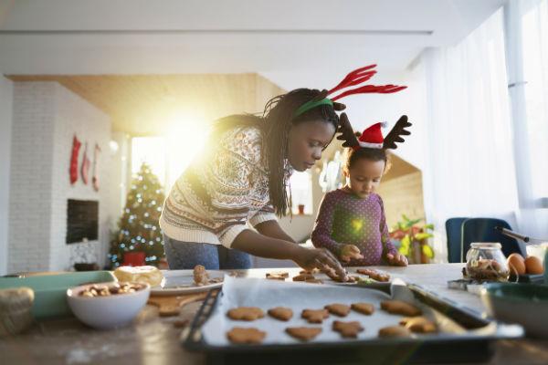baking cookies christmas activities for families