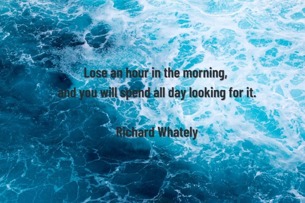 morning routine quote