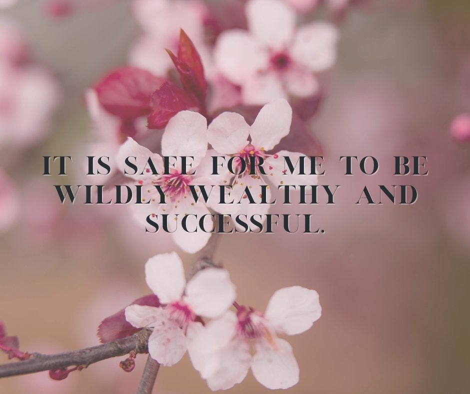 wealthy affirmation